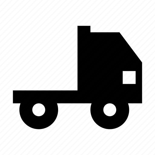 cargo, lorry, pickup, shipping, tipper, truck icon