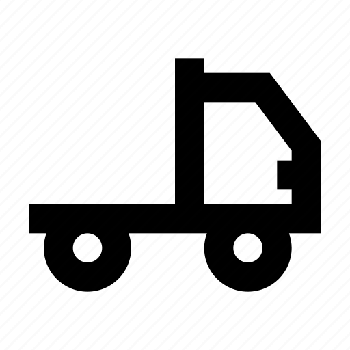 Cargo, lorry, pickup, shipping, tipper, truck icon - Download on Iconfinder