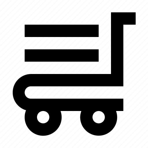 Hand, hotel, luggage, platform, trolley, truck icon - Download on Iconfinder