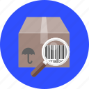 bar, barcode, label, product, scan, scanner, shop icon