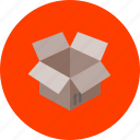 bag, box, delivery, encase, fold, pack, package icon