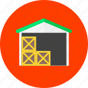 deposit, repository, stock, storage, store, storehouse, warehouse icon