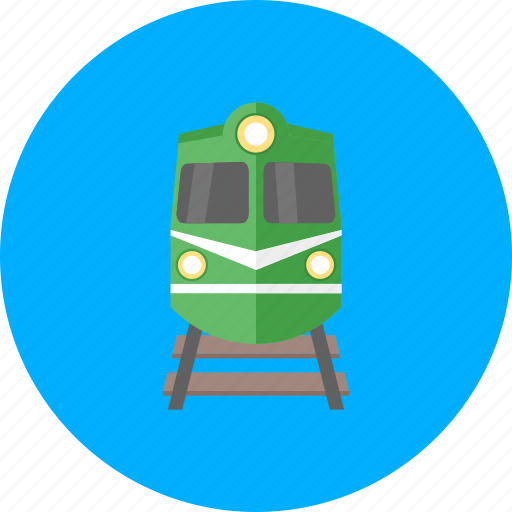 delivery, rail, railroad, railway, train, transport, transportation icon