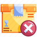 box, errer, logistics, package, shopping icon