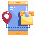 logistics, package, shopping icon