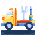logistics, package, service, shopping icon