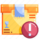 box, logistics, package, shopping icon