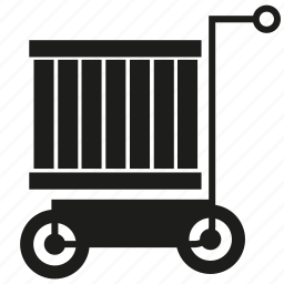 box, cart icon