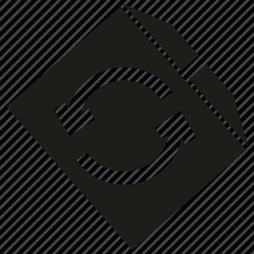 arrow, box, carton box, send, shipping icon