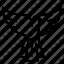 bird, delivery, dove, logistics, shipping icon