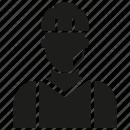 engineer, labor, man, service man icon