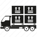 box, car, cargo, delivery, lorry, transport, truck icon