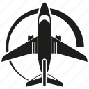 plane, transport, travel icon