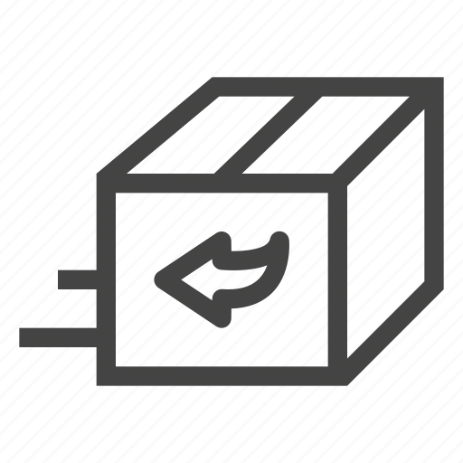 Exchange, box, shipping, delivery, cargo, transport, logistics icon - Download on Iconfinder