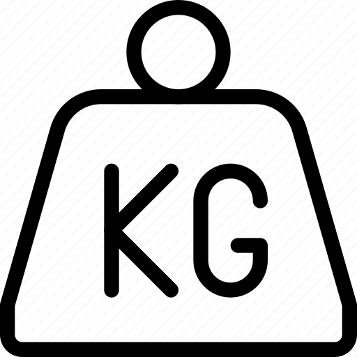 Delivery, kg, kilo, kilogram, shipment, shipping, weight icon - Download on Iconfinder