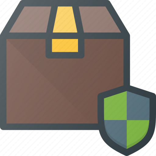 box, delivery, protect, shipping icon