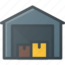 box, delivery, shipping, warehouse icon
