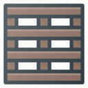 carry, delivery, palette, shipping icon