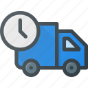 delivery, fast, shipping, time, truck