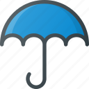 delivery, protection, shipping, umbrella, wet