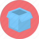 box, cargo, logistics, package, parcel icon