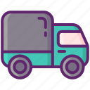 delivery, service, shipping, truck icon