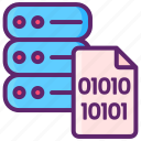 binary, data, master, server icon