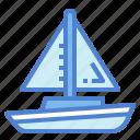 boat, sailboat, sailing, ship