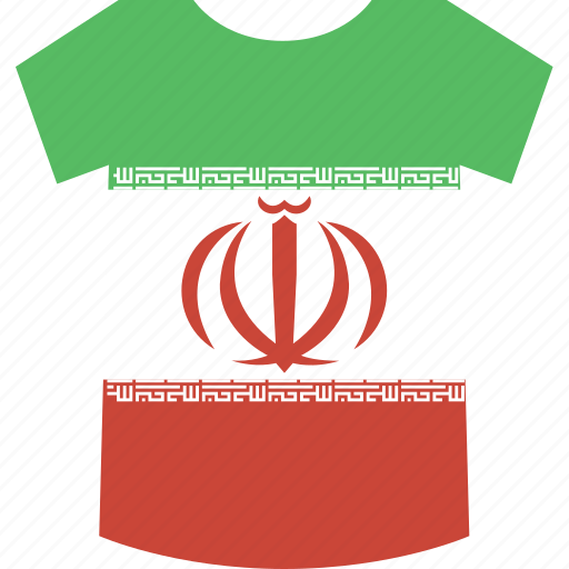 iran, shirt icon