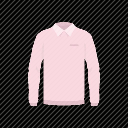 clothes, clothing, garment, male clothes, polo, polo shirt, shirt icon