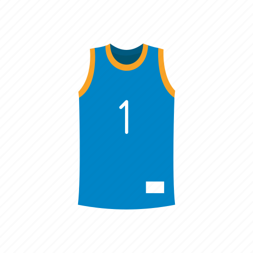 basketball jersey, clothing, garment, jersey, sleeveless, sport attire icon