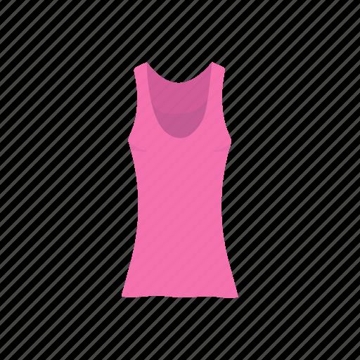 clothes, clothing, fashion, female clothes, garment, shirt, sleeveless icon