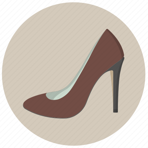 shoe, shoes, woman icon