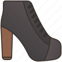 fashion, modern, heels, footwear, shoes icon