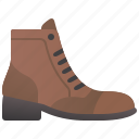 boots, fashion, footwear, leather, shoes icon