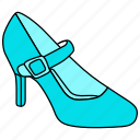 3, dress, footware, high heels, pump shoes, pumps, shoes, stiletto icon