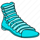 boot, brogan, brogue, clodhopper, dress, footware, heavy shoe, shoe, work shoe icon