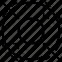 area, fortnite, game, line, shrink, shrinking icon