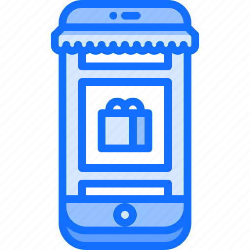 app, online, phone, shop, shopping, smartphone, store icon