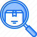 bag, box, delivery, magnifier, search, shop, shopping icon