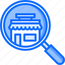 bag, find, magnifier, purchase, search, shop, shopping icon
