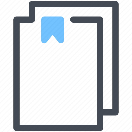 Bookmark, document, favorite, file icon - Download on Iconfinder