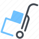 box, cart, delivery, fast icon