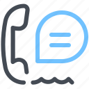 call, centr, chat, support icon