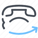 call, contact, info, share, support, telephone icon