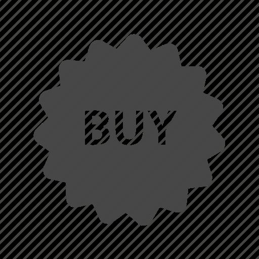 buy, label, shop, sticker icon