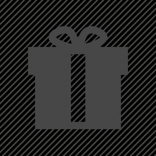 gift, ribbon, shopping icon