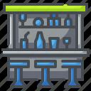 bar, beverage, drink, food, pub, shop, store icon