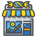 building, candy, dessert, shop, store, sugar, sweet icon