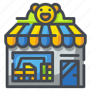 baby, doll, games, kid, shop, store, toy icon